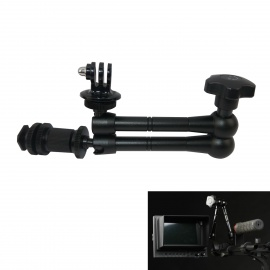 "11"" Articulating Magic Arm w/ 1/4"" Screw for HDMI Monitor/LED Lights/Camera/Gopro 1/2/3/3+/SJ4000"