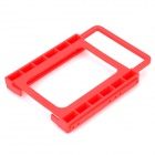 "2.5"" to 3.5"" HDD Adapter Plastic Rack Bracket - Red"