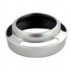 40.5mm Aluminum Alloy Vented Lens Hood Shade - Silver