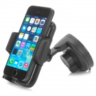 065 ABS 360 Degree Rotatable Multifunction Mount Holder for Cellphone / GPS / MP3 / MP4 - Black