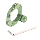 DUALANE -Standard Aluminum Bicycle Mount for GoPro Hero / Hero 2 / Hero 3 / 3+ - Green