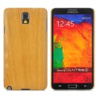 Protective Wood Back Case for Samsung Note 3 N9000 - Wood