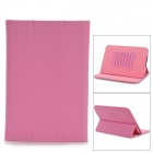 "Protective Universal PU + Plastic Case w/ Stand / Speaker for 7"" Tablets - Pink"