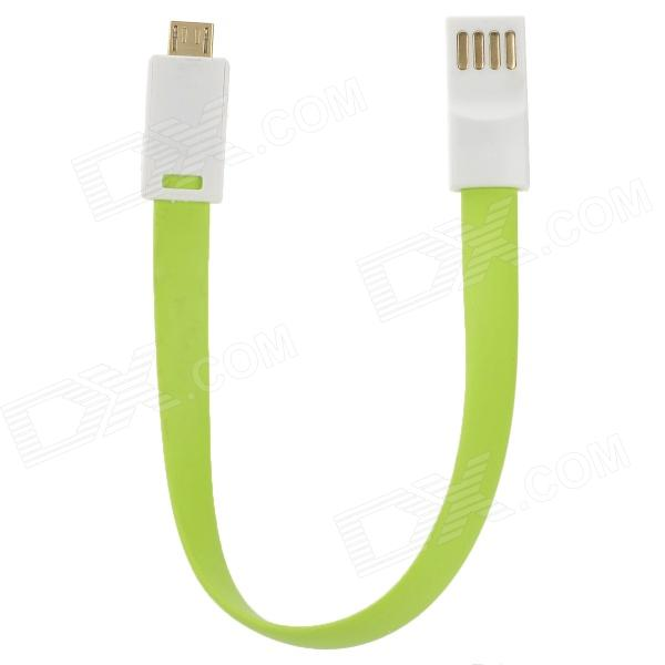 S-What Micro USB Charging / Data Cable for Xiaomi / Samsung + More - White + Green (22cm) набор полотенец primavelle piera 50x90 2 шт