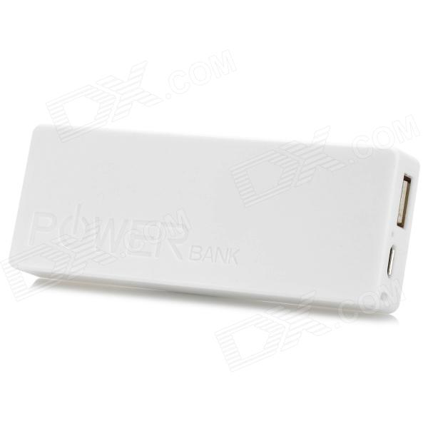 Ultrathin Portátil 2400mAh o Banco Móvel do Poder (5V 1A)