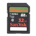 SanDisk Extreme Pro 633X SDHC UHS-I 32GB IPX7 Waterproof SD Card - Black