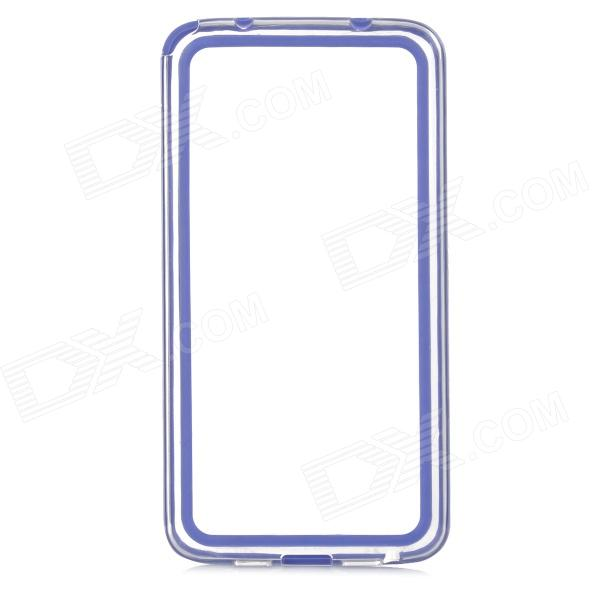 A-334 Protective TPU Bumper Frame Case for LG G2 - Dark Blue protective tpu   pc bumper frame for lg