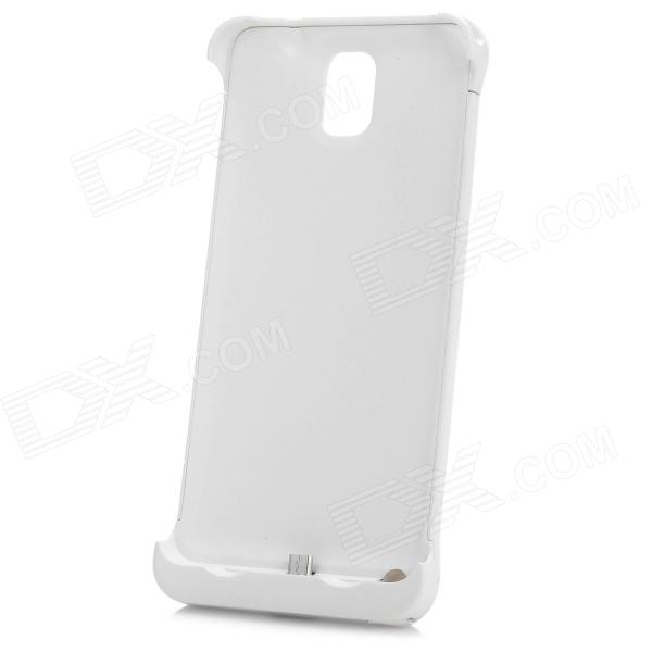 External ''4200mAh'' Power Battery Charger w/ Back Case / Stand for Samsung Note 3 N9000 (5V)