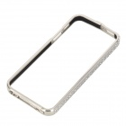 Zhongxing Aluminum Alloy Protective Bumper Frame for Iphone 5 / Iphone 5S - Silver Grey