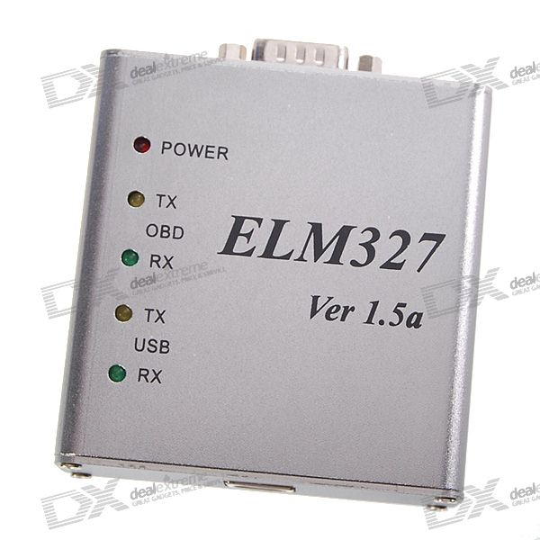 ELM327 USB Vehicle OBD-2 Scanner Tool