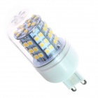 G9 4W 280lm 3500K 60 x SMD 3528 LED Warm White Light Lamp Bulb - White (AC 110~120V)
