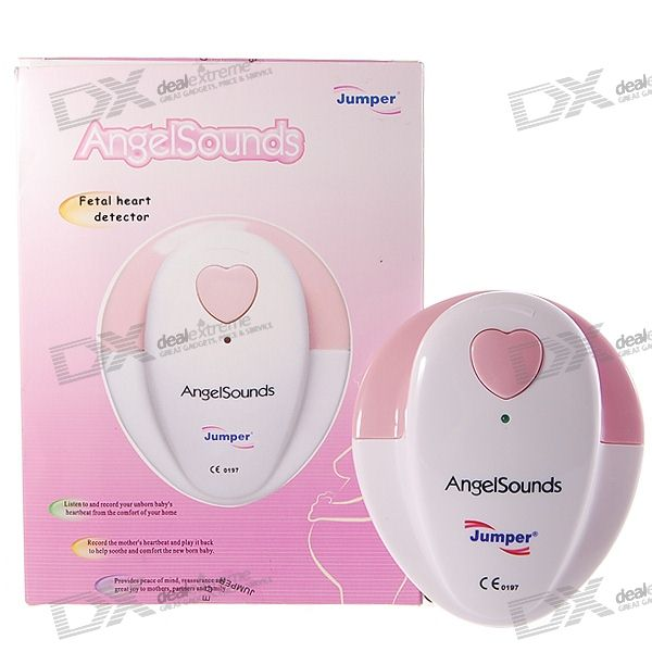 AngelSounds Baby/Fetal Heart Beat Monitor for Soon-To-Be Parents (1*6F22)