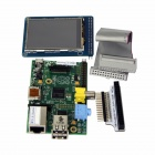 "Raspberry Pi Project Board + TFT-LCD-Adapter + Datenkabel + 2,4 ""TFT-LCD-Touch-Sensor-Modul-Set"
