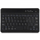 Mini Bluetooth V2.0 59-Key Keyboard w/ Micro USB Cable - Black