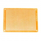 PCB57 1,2 mm 5 x 7cm Bakelite PCB Leiterplatten - Dark Orange (10 PCS)