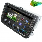 "LsqSTAR 8"" Pure Android Capacitive screen Car DVD Player w/ GPS, RDS, TV, SWC, AUX, Can Bus for VW"
