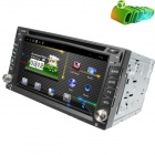 "LsqSTAR 6.2"" Pure Android Capacitive screen Car DVD Player w/ GPS,RDS,BT,TV,SWC,AUX-IN for Univers"
