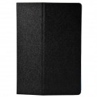 One Fold Style Silk Texture PU Leather + TPU Protective Case for Ipad AIR - Black + Blue