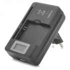 Batterie '' 3030mAh '' + 0,8 '' Chargeur LCD USB + Plug Adapter l'UE pour Samsung Galaxy S3 i9300