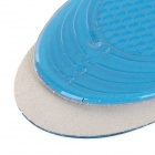 Silicone Shoe Insole Pads - Light Purple + Blue