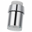 Thchi YMX-A2 3-Color LED Temperature Controlled Faucet Water Tap - Silver