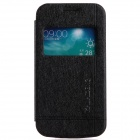 KALAIDENG PU Leather Case Cover Stand w/ Visual Window Samsung Galaxy Trend 3 G3502 - Black