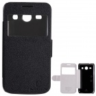 NILLKIN Fresh Series Protective PU Leather Case for Samsung G3502U Galaxy Trend 3 - Black