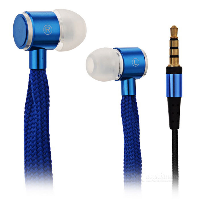 HXT-2026 Creative Shoelace Style In-Ear Earphone for Cell Phone / MP3 / MP4 / PC (Cable-110cm)