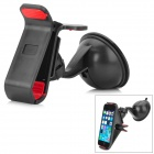 Mini 360 Degree Rotatable Holder Stand + Clip Style Bracket + Car Charger for LG Nexus 5 - Black
