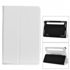 "TY-7 Universal Protective PU Leather Case w/ Stand for 7"" Tablets - White"