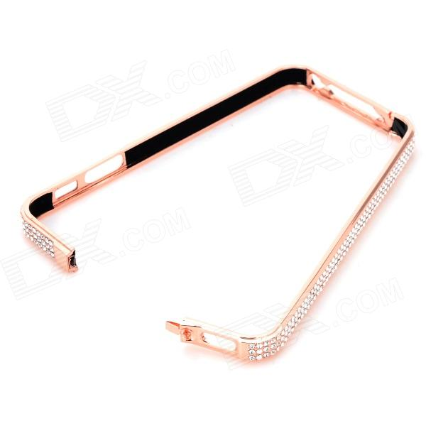 Protective Aluminum Alloy Bumper Frame Case for Iphone 5 - Rose Gold protective aluminum alloy bumper frame case for iphone 5 rose gold