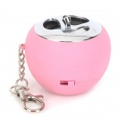 ML-89 Mini Rechargeable Speaker Música w / colorido luz intermitente para Celular / MP3 / MP4 - rosa