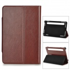 "TY-7 Universal Protective PU Leather Case w/ Stand for 7"" Tablets - Rufous"