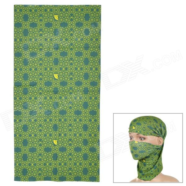 LL-1215 Outdoor Multifunction Seamless Polyester Fiber Headscarf - Olive Green