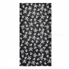 LL-1215 Outdoor Multifunction Seamless Headscarf - Black Grey