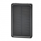 "QJ-1 Universal Portable Solar ""4000mAh"" Power Bank for Cell Phone / Tablet PC - Black"