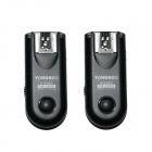 YONGNUO RF-603II-N2 16-CH 2.4GHz Wireless Flash Trigger Transmitter Receiver Set for Nikon - Black