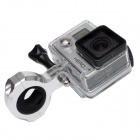 High Precision CNC alumiini Alloy Bike Ohjaustanko Mount GoPro Hero 4/3 + / 3/2 / HD - Hopea + Musta