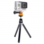 "High Precision CNC Aluminum Alloy 1/4"" Tripod Adapter Mount for Gopro Hero 4/3+ / Hero3 / Hero2 -Golden"