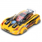 Rechargeable 2-CH Mini R/C Car Toy - Black + Red