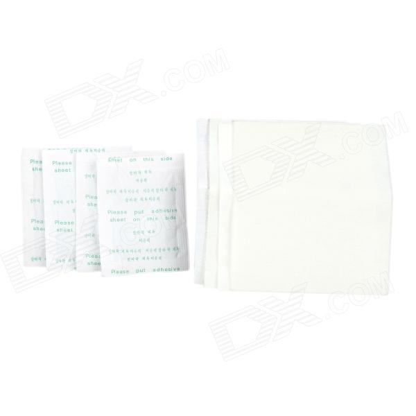 JiaHui Bamboo Vinegar Extracts Feet Detox Patches - White (4 PCS) functional capacity of mango leave extracts