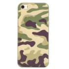 Protective PC Back Case for Iphone 5 / 5s - Camouflage + White