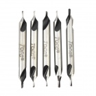 N3 High Speed ​​1 mm HSS-Bohrer-Center - Silber (5 PCS)