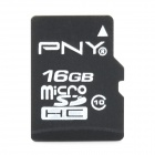 PNY Class 10  Micro SD HC TF Card - Black (16GB)