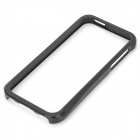 Detachable Pull-Out Aluminum Alloy Bumper Frame for Iphone 5 - Black