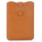Stylish PU Pouch Bag w/ Buckle for Ipad MINI - Brown