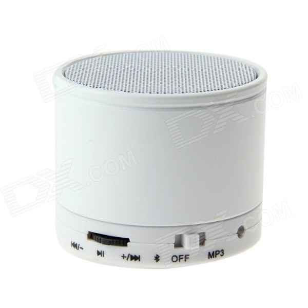 SK-S10 Bluetooth V2.1 Speaker w/ Mini USB / TF Card Slot - White + Black