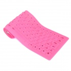 85-Key silicone suave USB 2.0 Wired Keyboard - rosa