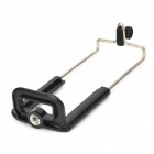 "1/4"" Tripod Mounted Clip for Tablet PC - Black + Silver (Max. Width 9.5cm)"