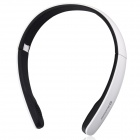 Suicen AX-671 Bluetooth V4.0 + EDR Stereo Headphone w/ Wired / Wireless 2-Mode / Microphone - White